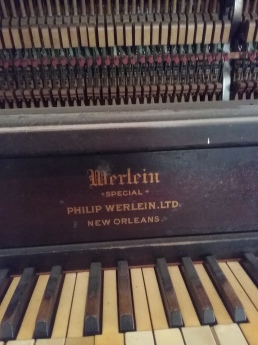 Old upright